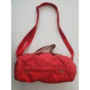Lacoste Mini Duffle Bag Red